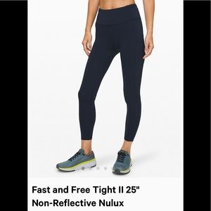 Lululemon Fast and Free Tight High Rise 25""